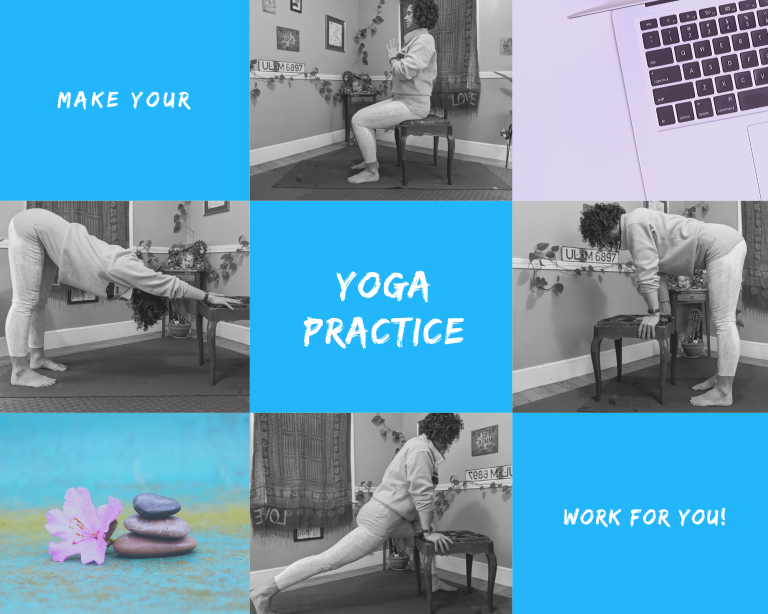 Modifications for a home yoga practice